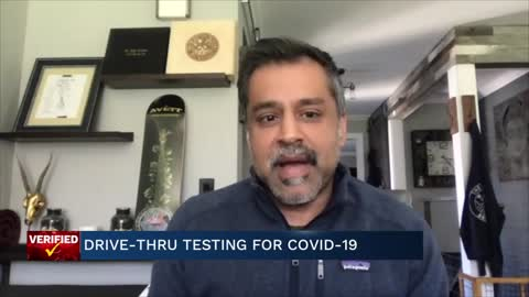 Medical Minute: Drive-thru testing for COVID-19